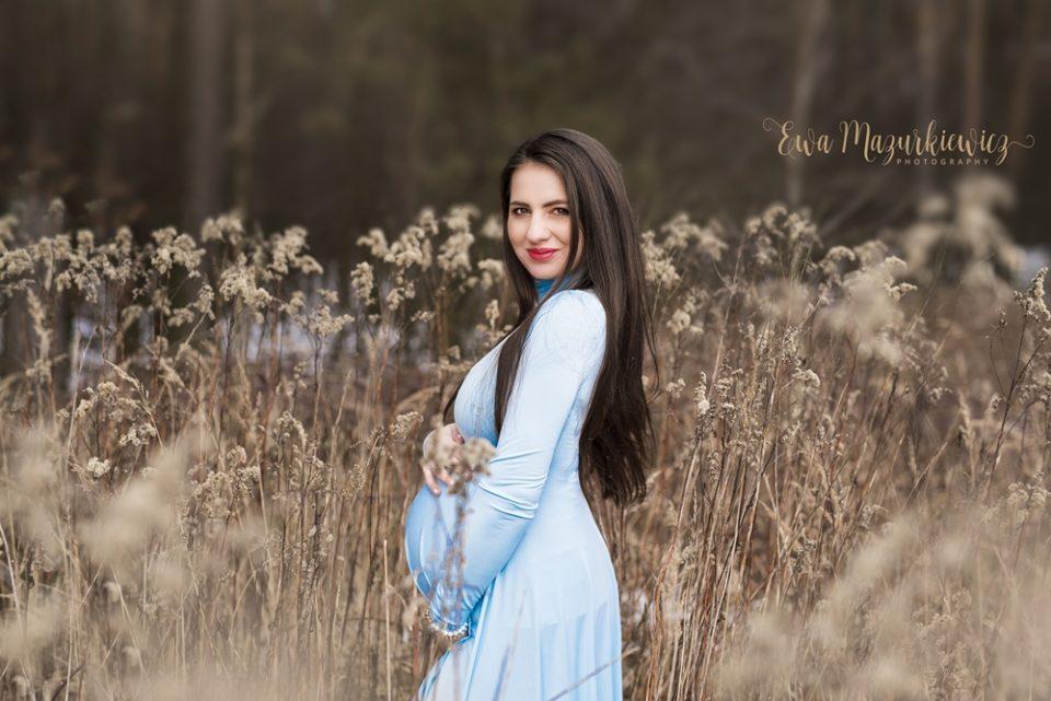 Sesja ciążowa – Klaudia